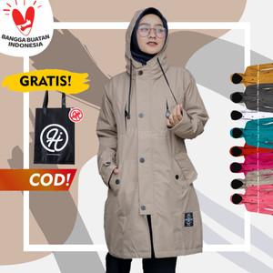 Harga jaket wanita jumbo hijabers muslimah hijacket ixora size xxl   | HARGALOKA.COM