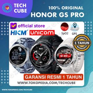 Harga honor watch gs pro smartwatch gps bluetooth call sport amoled resmi   camo | HARGALOKA.COM