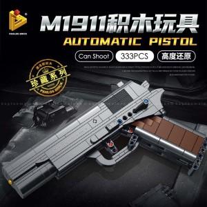 Harga lego block m1911 pistol gun panlos 670007 mainan diy rakitan   HARGALOKA.COM