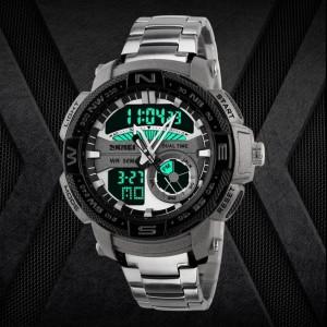 Harga jam tangan analog digital pria original skmei ad1121 dijamin   HARGALOKA.COM