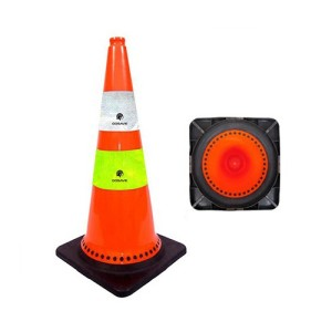 Info Gojek Traffic Cone 90 Cm Dasar Orange Double Scotlight Kerucut Katalog.or.id