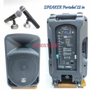 Harga speaker portable meeting 12 in premiun quality | HARGALOKA.COM