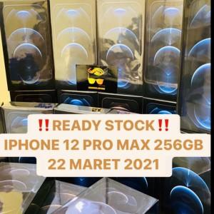 Harga iphone 12 pro max 256gb bnib garansi resmi 1 tahun 100 original murah   pasific | HARGALOKA.COM