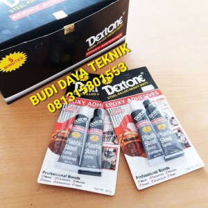 Harga lem dextone 5 menit putih hitam 48gr 1 lusin 12 pc | HARGALOKA.COM