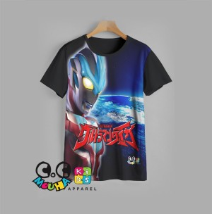Harga baju kaos anak ultraman baju anak super hero v4 usia 9 12 tahun   9 10 | HARGALOKA.COM