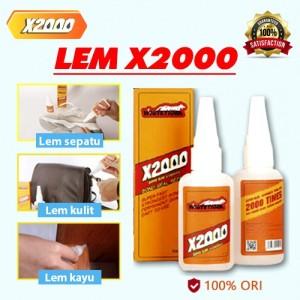 Harga lem x 2000 whitetiger 50ml 2000x lebih kuat bisa untuk semua | HARGALOKA.COM