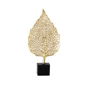Harga vivere object deco golden leaf a | HARGALOKA.COM