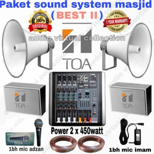 Harga paket sound system 39 masjid best ii | HARGALOKA.COM