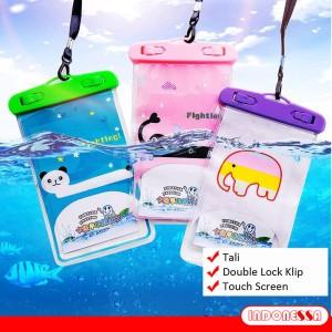 Harga sarung hp tempat hp case kantong anti air waterproof handphone anti ai   gajah | HARGALOKA.COM