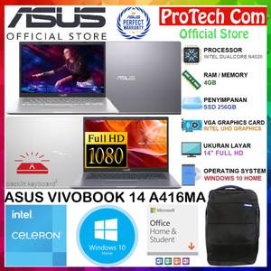 Harga asus vivobook a416ma dualcore n4020 4gb 256gb intel hd 14 34 fhd ohs   HARGALOKA.COM