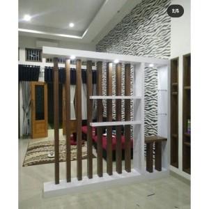 Harga partisi penyekat ruangan kayu jati | HARGALOKA.COM