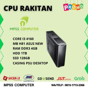 Harga komputer rakitan intel core i3 4160 4gb hdd 1tb ssd | HARGALOKA.COM