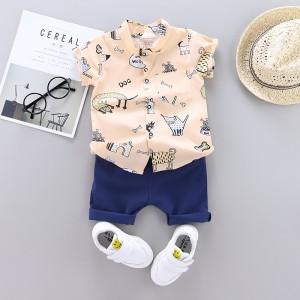 Harga 0 3thn setelan baju bayi import pakaian anak kemeja anak   cream 6 12 | HARGALOKA.COM