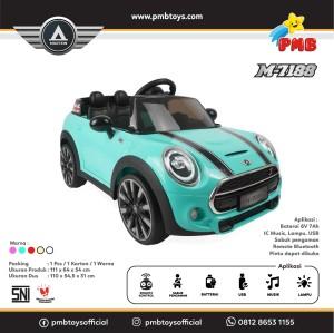 Harga khusus cargo mobil aki pmb m7188 mainan musik anak mini cooper m 7188   | HARGALOKA.COM