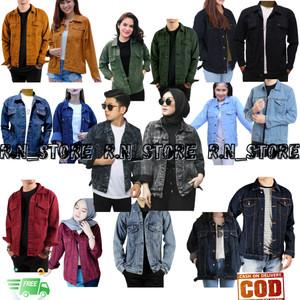 Harga jaket jeans pria wanita oversize levis denim termurah   garment | HARGALOKA.COM