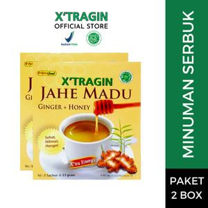 Harga x 39 tragin jahe madu paket 2 box minuman | HARGALOKA.COM
