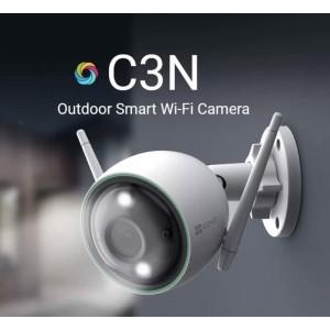 Harga ip camera cctv wifi ezviz c3n full hd 1080p outdoor garansi | HARGALOKA.COM