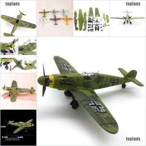 Harga mainan anak diecast pesawat tempur perang dunia ii   warna | HARGALOKA.COM