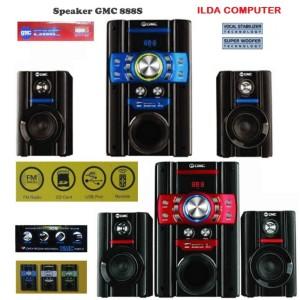 Harga speaker multimedia gmc 888s subwoofer awet amp extra | HARGALOKA.COM
