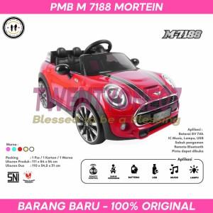 Harga mainan anak mobil aki mini cooper pmb m 7188 m7188 mortein double seat   | HARGALOKA.COM
