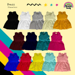 Harga dress sleeveless bayi anak 1 5 y   mustard | HARGALOKA.COM