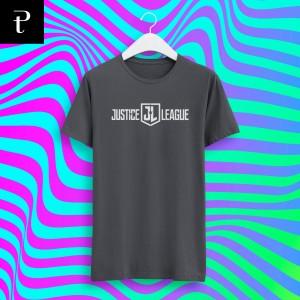 Harga kaos justice league logo 2 tshirt pendek panjang pree tees   hitam | HARGALOKA.COM