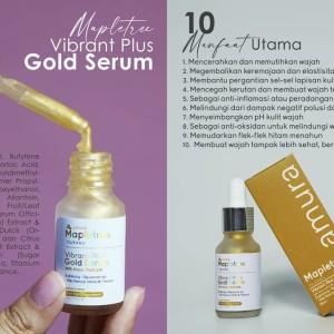 Harga serum wajah amura expert gold original penghilang flek hitam bpom     HARGALOKA.COM