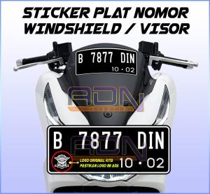 Harga Stiker Untuk Plat Nomor Mobil Katalog.or.id