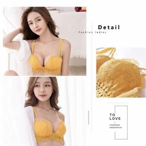 Harga jb bra wanita dengan model rumbai baju dalam wanita bergaya sexy   merah | HARGALOKA.COM