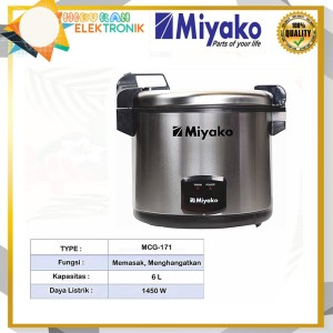 Harga rice cooker magic com miyako mcg 171 jumbo | HARGALOKA.COM