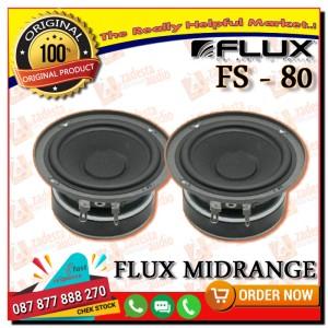 Harga flux midrange speaker fs 80 sporty series | HARGALOKA.COM