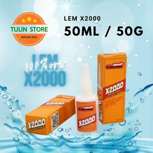 Harga lem x2000 whitetiger 50ml perekat kuat untuk semua | HARGALOKA.COM