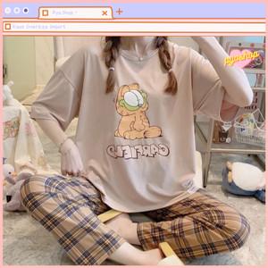 Harga baju tidur import disney untuk wanita setelan piyama cp     HARGALOKA.COM