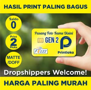Harga kartu flazz gen2 custom print 2m e toll e toll etol bca saldo 0 gen | HARGALOKA.COM