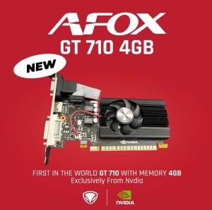 Harga afox nvidia geforce gt710 4gb ddr3 64bit   single | HARGALOKA.COM