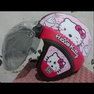 Harga helm bogo sni dewasa chuby doraemon hello kity   HARGALOKA.COM