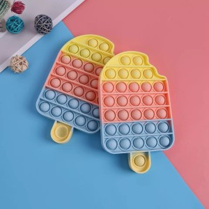 Harga mainan pop it its popit ice cream rainbow es krim fidget toy | HARGALOKA.COM