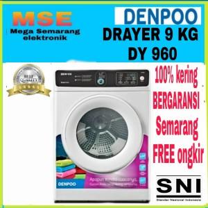 Harga mesin pengering pakaian daryer 9 kg denpoo dy   HARGALOKA.COM