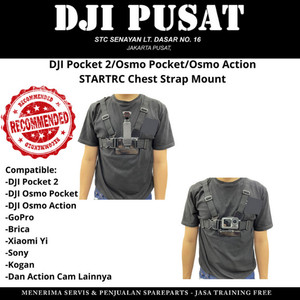 Harga chest strap mount bracket dada dji osmo pocket 2 action mounting   HARGALOKA.COM