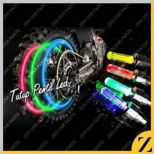 Info Tutup Pentil Led Ban Motor Mobil Sepeda Warna Warni Car Tyre Wheel Led Katalog.or.id