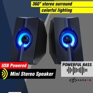 Harga speaker usb kecil aktif portabel mini bass computer pc laptop | HARGALOKA.COM