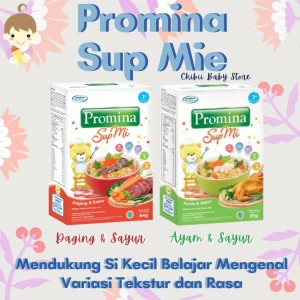 Harga promina sup mie 12 bulan 120gram promina sup mi bayi   daging   HARGALOKA.COM