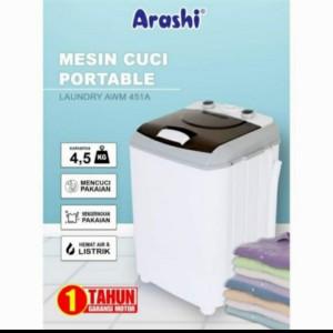 Harga arashi mesin cuci 4 5 kg   HARGALOKA.COM