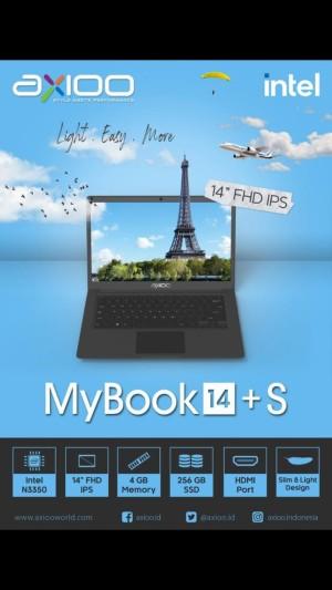 Harga laptop axioo mybook 14 windows 10 ram 4gb with ssd 256gb notebook 14 34 | HARGALOKA.COM