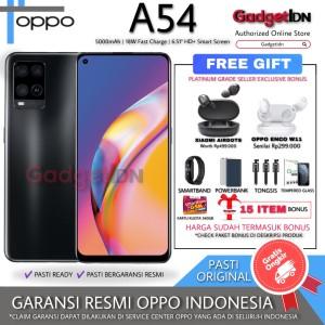 Harga oppo a54 4 128gb garansi resmi oppo indonesia   black tanpa | HARGALOKA.COM