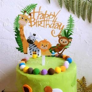 Info Cake Topper Hiasan Kue Happy Birthday Acrylic Katalog.or.id
