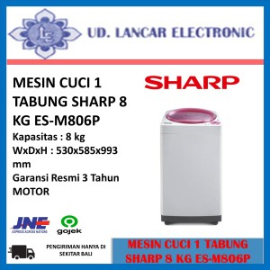 Harga mesin cuci sharp 1 tabung 8 kg   HARGALOKA.COM