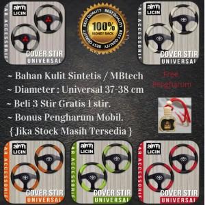 Harga sarung cover setir stir mobil triton apv carry murah amp berkualitas   hitam   putih all | HARGALOKA.COM