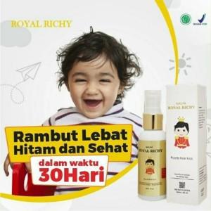 Harga naufa royal richy penumbuh rambut bayi minyak kemiri anak | HARGALOKA.COM