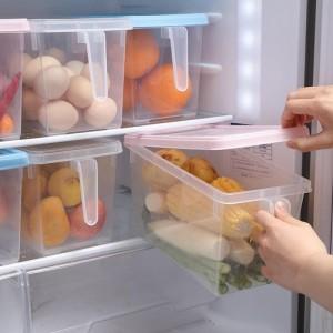 Harga kotak makanan food storage box container freezer rak kulkas serbaguna   | HARGALOKA.COM